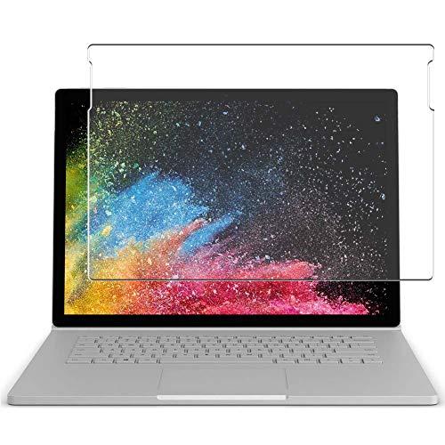 Vaxson 4 Unidades Protector de Pantalla, compatible con Microsoft Surface Book 2 15' Book2 [No Vidrio Templado] TPU Película Protectora