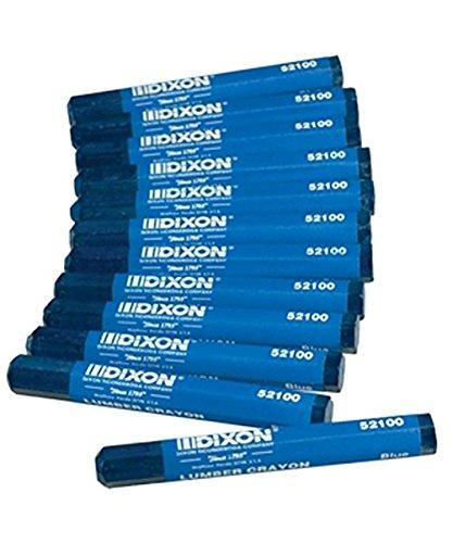 Dixon Ticonderoga 52100 Blue Lumber Crayon