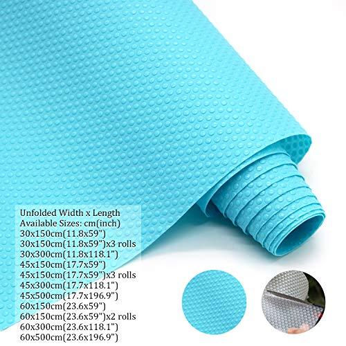 Hersvin 45cmx300cm Plastico Protector para Cocina Cajones, Alfombras A