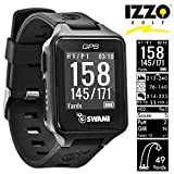 Izzo SWAMI GOLF GPS WATCH/DISTANCES/HAZARDS/SCORECARD/NEW 2020 MODEL