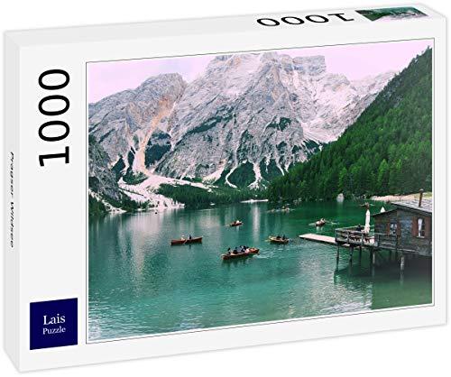Lais Puzzle Lago di Braies 1000 Pezzi