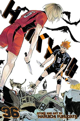 """Composition Notebook: Haikyuu Vol. 36 Anime Journal-Notebook, College Ruled 6"""" x 9"""" inches, 120 Pages"""