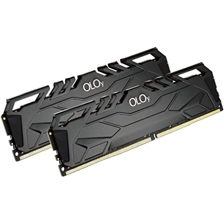 OLOy DDR4 RAM 16GB (2x8GB) 3200 MHz CL16 1.35V 288-Pin Desktop Gaming UDIMM (MD4U0832160BJ0DA)