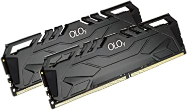 OLOy DDR4 RAM 16GB (2x8GB) 3000 MHz CL16 1.35V 288-Pin Desktop Gaming UDIMM (MD4U083016BJDA)