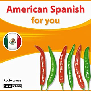 American Spanish for you audiobook cover art