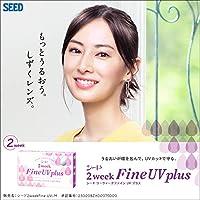 2ウィークファインUVプラス 【BC】8.7【PWR】-1.25 6枚入 4箱セット