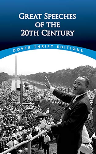 Compare Textbook Prices for Great Speeches of the 20th Century Dover Thrift Editions Green ed. Edition ISBN 9780486474670 by Bob Blaisdell