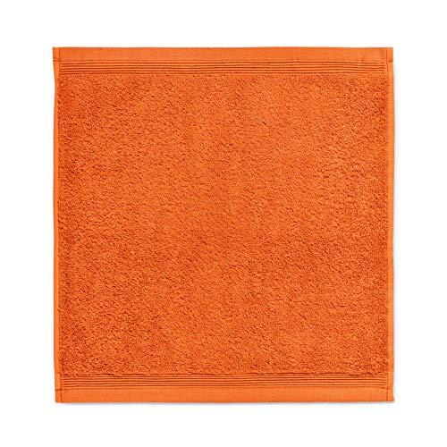 möve 017258775-030030-701 serviette lavette, Red Clay, 30 x 30 cm