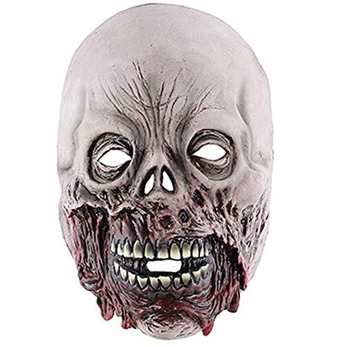 TTCXDP Halloween Masker, Rotten Mond Zombie Masker Horror Schedel Masker Enge Haunted House Room Escape Latex Hoofddeksels Rol Spelen Mannen En Vrouwen Kleding Props
