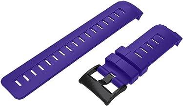 FafSgwq Correa de muñeca Correa de Reloj de Silicona Electrónica de Consumo Desgaste Inteligente Reloj de Moda de telefono Movimiento Purple