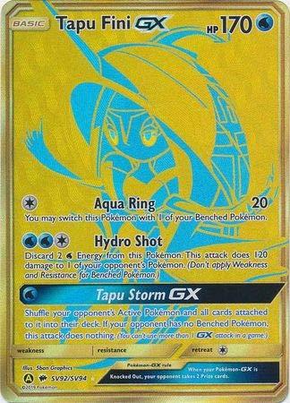 Tapu Fini GX - SV92/SV94 - Ultra Rare - Hidden Fates