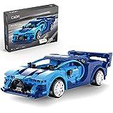 CADA C51073W - Bloques de construcción para coche deportivo Bugatti Veyron con mando a distancia, modelo compatible con Lego Technic, 325 piezas