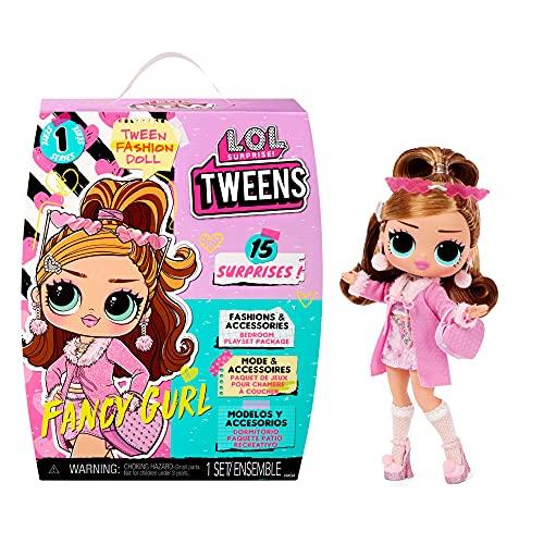 LOL Surprise Tweens Muñeca de Moda Fancy Gurl - con 15 sorpresas, Ropa y Accesorios. Muñeca de colección para niños a Partir de 3 años.