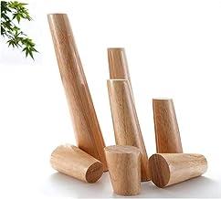 نوعية جيدة 4X الأثاث أرجل الخشب، قدم طاولة، مصنوعة من خشب المطاط، تستخدم للأسرة، الخزائن والكراسي، مع مسامير وسجاد أرضية، ...