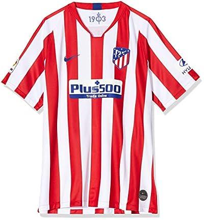NIKE Atlético de Madrid 2019/2020 Camiseta, Hombre, Rojo/Blanco (1ª Equipación), S