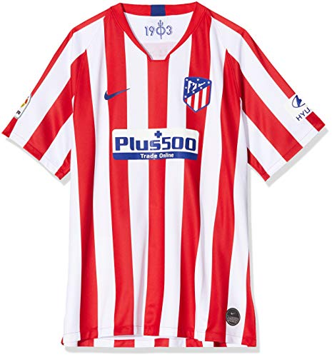 Nike Men's Soccer Atletico Madrid Home Jersey (Small) White/Red/Blue