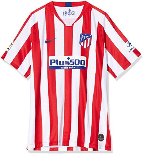 NIKE Atlético de Madrid 2019/2020 Camiseta, Hombre, Rojo/Blanco (1ª Equipación), XL