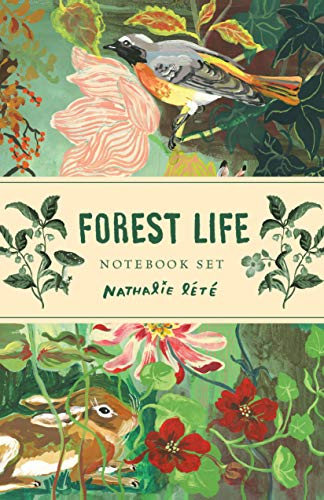Forest Life Notebook Set: (cute Office Supplies, Cute Desk Accessories, Back to School Supplies)