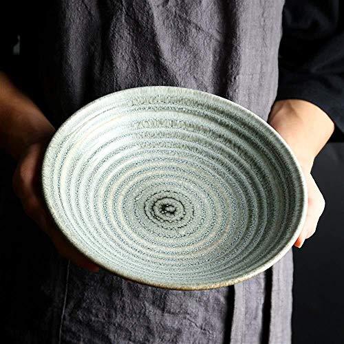 SOHOH Cena Soup Bowl Autor Creativo vajilla Cuenco de cerámica Cena/Ensalada/Fruta/C Placa...