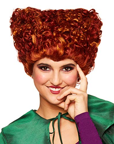 Spirit Halloween Hocus Pocus Winifred Sanderson Wig for Adults - Deluxe   Officially Licensed