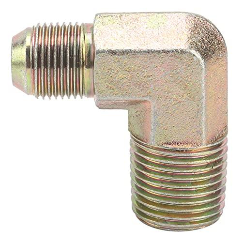 Accesorio para compresor de aire, bomba de hierro fundido segura y confiable de 1100 W / 1500 W, codo de 90 grados para compresores de aire industriales