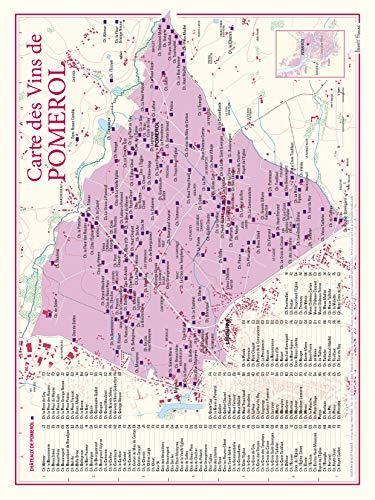 Carte des vins de Pomerol