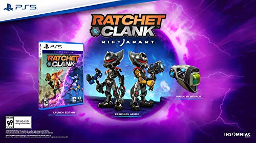 51LLCcEEHAL - Ratchet & Clank: Rift Apart Launch Edition - Playstation 5