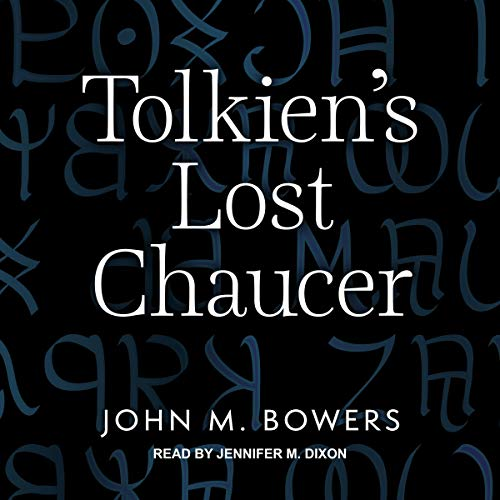 Tolkien's Lost Chaucer cover art