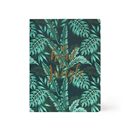 Legami - Cuaderno de rayas - Grande - Hoja B5, Jungle