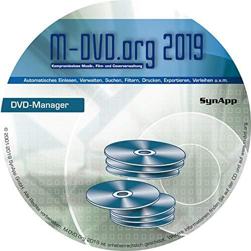 M-DVD.Org 2019 - DVD-Manager - DVD-, Blu-ray- & Cover-Verwaltung mit DVD-Archiv