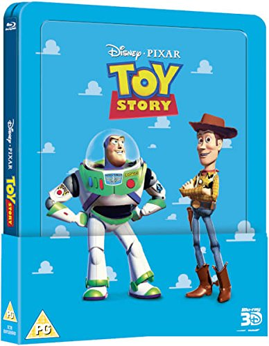 Toy Story Steelbook [Blu-Ray]+[Blu-Ray 3D] [Region Free] (IMPORT) (Nessuna versione italiana)
