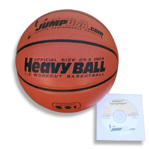 Why Choose Heavyball Heavy Weighted Basketball for Training Ultra Premium Composite Leather + Fast H...