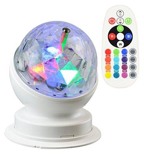 X4-LIFE LED Partyleuchte RGB+W inkl. Fernbedienung