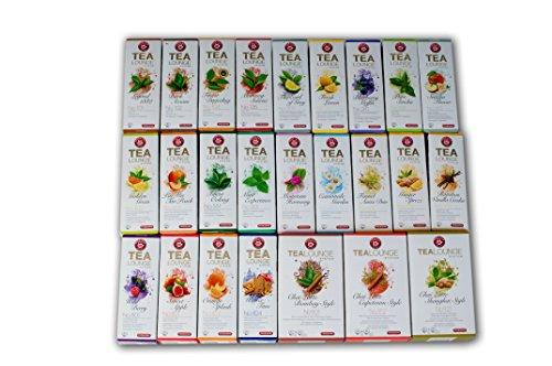Teekanne Tealounge Kapseln - Überraschungsset (5x 8 Kapseln)