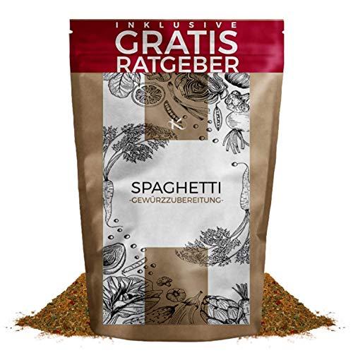Spaghetti Gewürzmischung 250g | Nudelgewürz italienische Gewürzspezialität inkl. gratis Ratgeber | hochwertiges Küchengewürz für Pasta Nudeln & Pizza