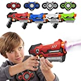 Kidoer Laser Tag Kids Toys, Laser Guns Set Outdoor Games Gift Toy for Boys and Girls Age 8+ | 4 Guns...