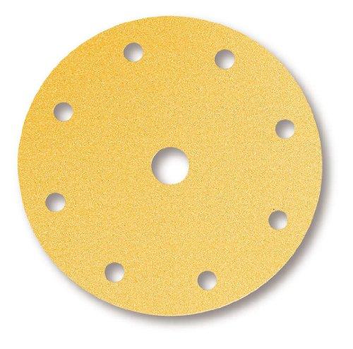 Mirka Gold 9-fach gelochte Scheiben GRIP P500 Ø 150 mm (100 Stk.)