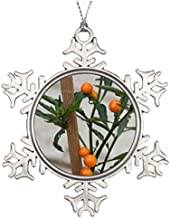 Metal Ornaments Tree Branch Decoration Flower Make Your Own Christmas Snowflake Ornaments