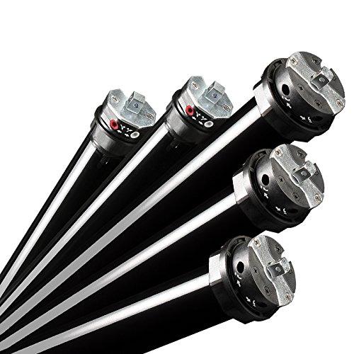 NOBILY *** Elektromechanischer Maxi-Rolladenmotor P5 50/12-60 mit mechanischen Endabschaltern (Zugkraft 50Nm/115kg) für 60mm Achkantwelle (SW60) Rolladenantrieb Rohrmotor