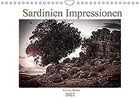 Sardinien Impressionen (Wandkalender 2022 DIN A4 quer): Sardinien in schwarz-weiss (Monatskalender, 14 Seiten )