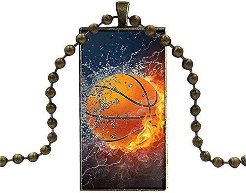 LBBYMX Co.,ltd Collar Moda béisbol fútbol Voleibol Baloncesto en Agua y Fuego