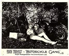 Motorcycle Gang Original Lobby Card Jean Moorhead Anne Neyland Steve Terrell 57