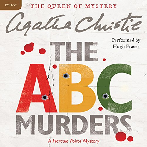 The ABC Murders audiobook cover art