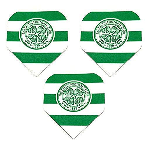 Art Attack 9 Pack Celtic Scottish Premier Team Football Soccer 75 Micron Strong Dart Flights
