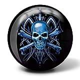 Brunswick Skull Viz A Ball Bowling Ball (15lbs)