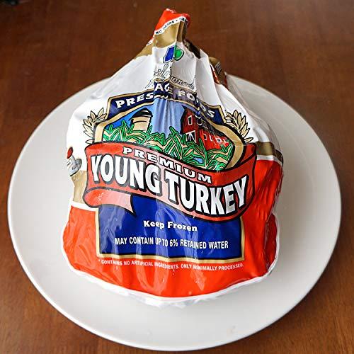22〜24人分 ターキー 七面鳥 大型 22-24ポンド(約9.9〜10.8Kg、22-24lb) ロースト用 生 冷凍 アメリカ産 クリスマス・感謝祭のメインディッシュに