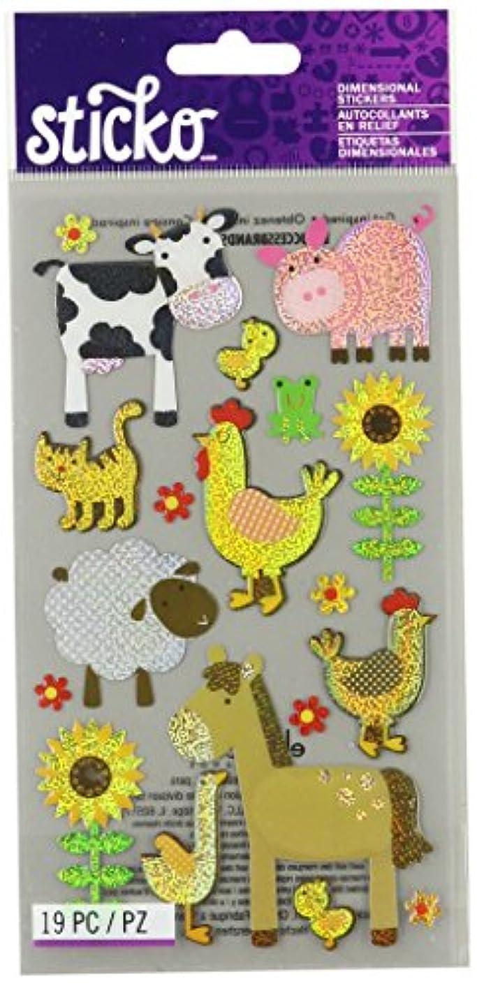 Sticko Farm Animal Sticker