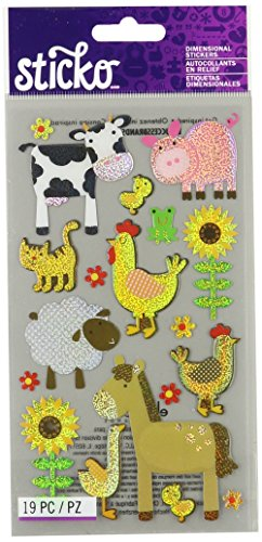 Sticko Farm Animal Sticker
