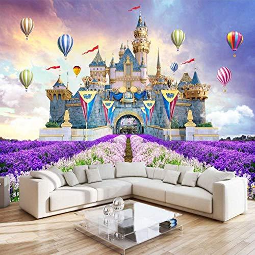 SKTYEE HD mural Custom 6860D Photo WallpaperCustom 3D Ceiling Murals Wallpapers European Style Luxury Creative Beautiful Flowers Wall Mural Sitting Room Ceiling Wall Papers,430x300 cm