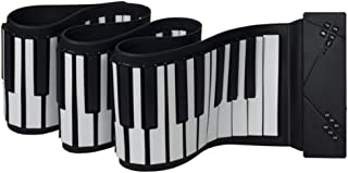 Hand-rolled piano, 88-key thickened professional version of the Bluetooth soft keyboard folded to simulate an adult practi...